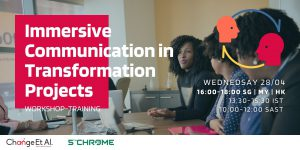 Immersive Communication in Transformation Projects